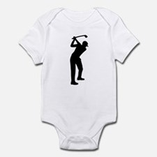 Golf player Infant Bodysuit