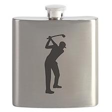 Golf player Flask