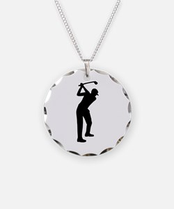 Golf player Necklace