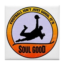 Football Goalkeeper - Soul Good Tile Coaster