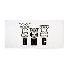 BMC Owls Beach Towel