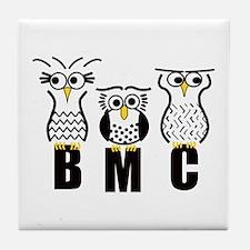 BMC Owls Tile Coaster
