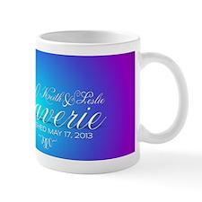 Peacock Wedding Design Mug
