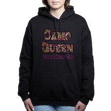 Camo Queen- Girls Hunt Too Pink Hooded Sweatshirt