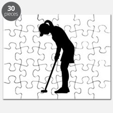 Golf woman girl Puzzle