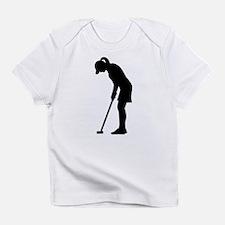 Golf woman girl Infant T-Shirt