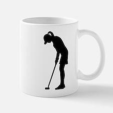 Golf woman girl Mug