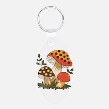 Merry Mushroom Keychains