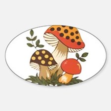 Merry Mushroom Decal