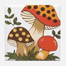 Merry Mushroom Tile Coaster