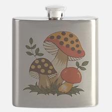 Merry Mushroom Flask