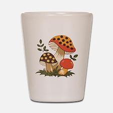 Merry Mushroom Shot Glass