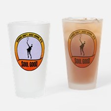 Tennis Serve - Soul Good Drinking Glass