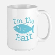 Im the bait fishing fish design Mugs