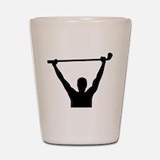 Golf champion winner Shot Glass