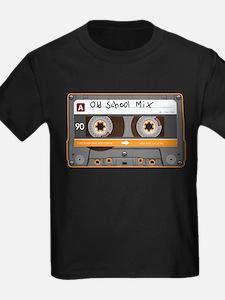 Old School Mix Cassette Tape T-Shirt