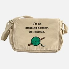 Amazing Hooker Messenger Bag