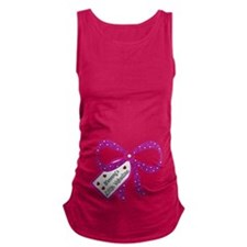 Mommys Little Valentine Maternity Maternity Tank T