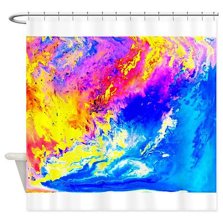 Beautiful weather Shower Curtain