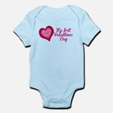 My first Valentines Day Maternity Body Suit