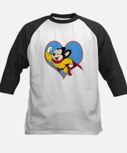 I Love Mighty Mouse Baseball Jersey