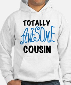 Blue Awesome Cousin Hoodie