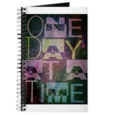 One Day at a Time Abstract Geometric Art Journal