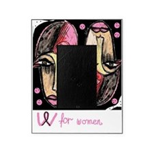 W for women Picture Frame