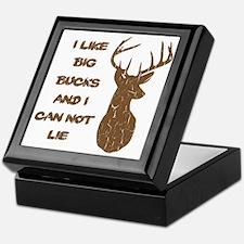 Vintage I Like Big Bucks Keepsake Box