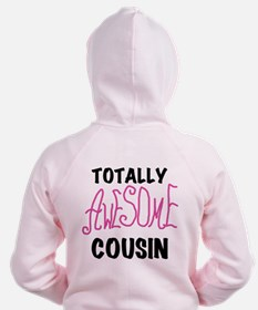 Pink Awesome Cousin Zip Hoodie