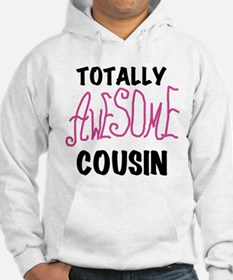 Pink Awesome Cousin Hoodie