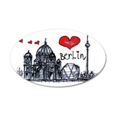 I love Berlin Wall Decal