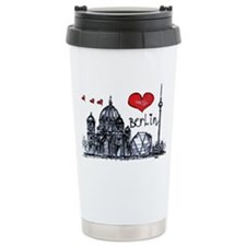 I love Berlin Travel Coffee Mug