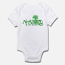 Nature Is My Religion Infant Bodysuit