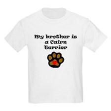 My Brother Is A Cairn Terrier T-Shirt