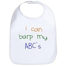 Burp My ABCs Bib