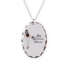 Bigbuisnesswoman Oval Necklace