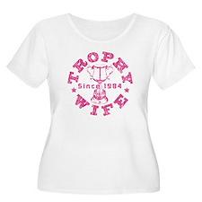 Trophy Wife Since 1984 T-Shirt