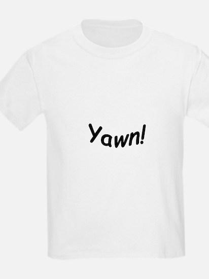 crazy yawn T-Shirt