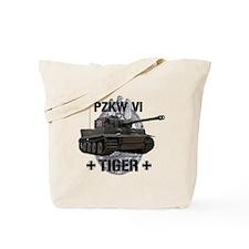 Tiger Tank Tote Bag