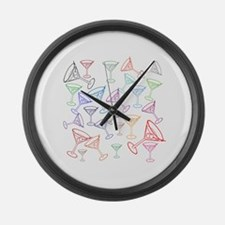 Happy Hour! Large Wall Clock