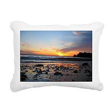 Long Island Sunset Rectangular Canvas Pillow