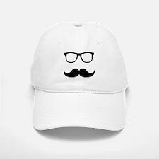 Mustache Glasses Baseball Baseball Cap