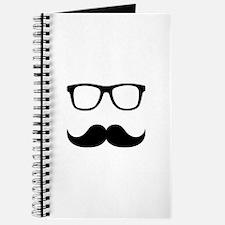 Mustache Glasses Journal