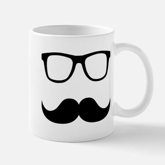 Mustache Glasses Mug