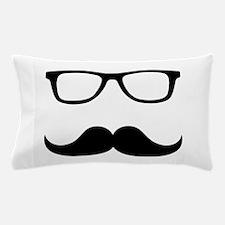 Mustache Glasses Pillow Case