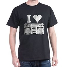 I Love Boomboxes T-Shirt