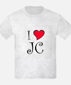 I Heart JC T-Shirt