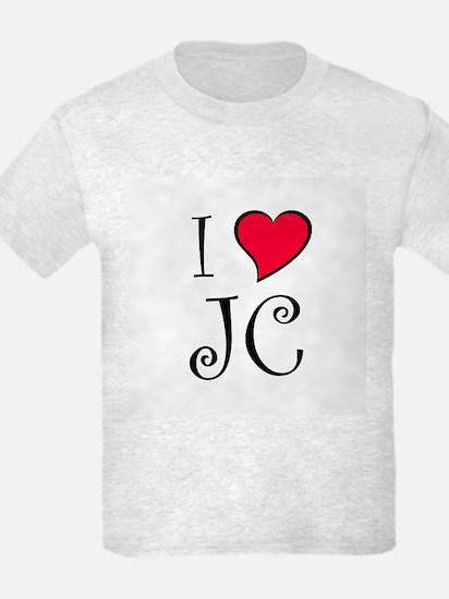 I Heart JC T-Shirt