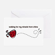 Waiting for my Miracle Greeting Cards (Package of